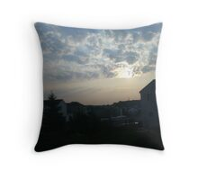 captured moments in chicago Throw Pillow