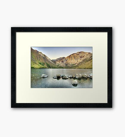 Waking Up at Convict Lake Framed Print