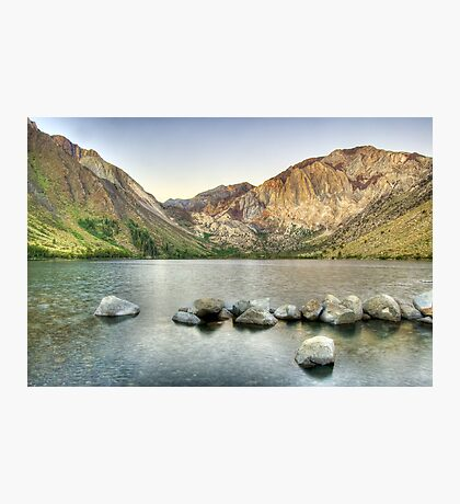 Waking Up at Convict Lake Photographic Print