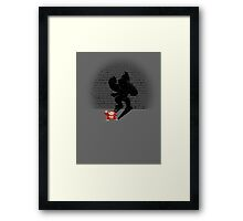 Becoming a Legend- Donkey Kong Framed Print