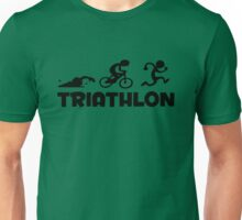 Triathlon sport Unisex T-Shirt