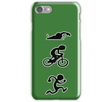 Triathlon sport iPhone Case/Skin