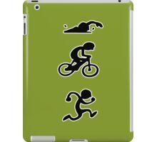 Triathlon sport iPad Case/Skin