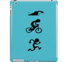Triathlon sport iPad Case/Skin