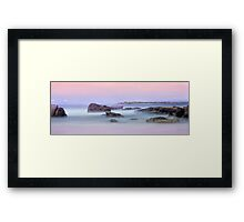 Caves Beach Australia NSW Framed Print