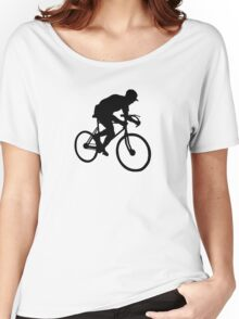 cyclisme cycle  cyclist Women's Relaxed Fit T-Shirt