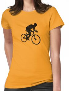 cyclisme cycle  cyclist Womens Fitted T-Shirt