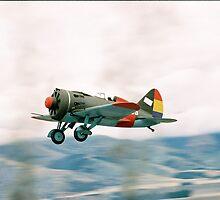 Polikarpov I-16   by aircraft-photos