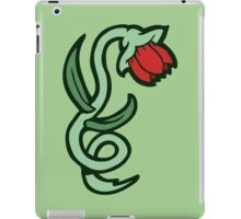 red flower tattoo iPad Case/Skin