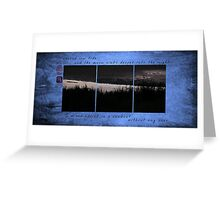 Record Low Tide Greeting Card