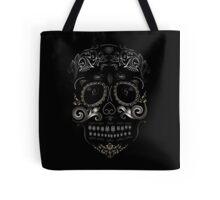 Sugar Skull Filigree  Tote Bag