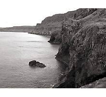 Northern Ireland Coast near Carrick-a-Rede Rope Bridge Photographic Print