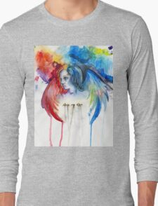 Give Me Love - Watercolor Long Sleeve T-Shirt