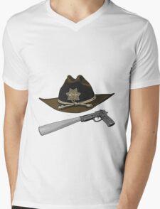 Team Carl Mens V-Neck T-Shirt
