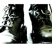 Dr Martins Boots Photographic Print