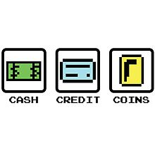 Cash Credit Coins by choustore