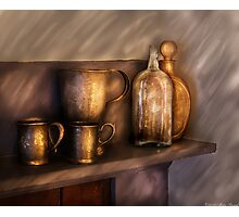 Implements of Whisky Photographic Print