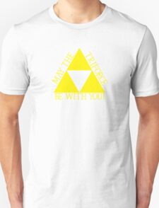 May the Tri force Be With You Unisex T-Shirt