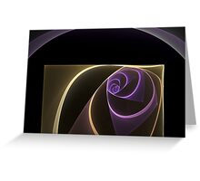 Abstract In A Box Greeting Card