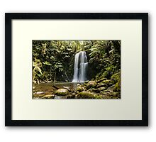 Beautiful Beauchamp Falls in the Otway National Park Framed Print