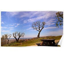 Glorious landscape Poster