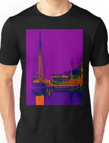 Docked At Woy Woy Unisex T-Shirt