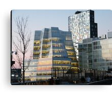 High Line View, Frank Gehry Building, New York Canvas Print