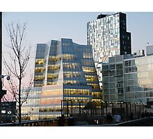 High Line View, Frank Gehry Building, New York Photographic Print