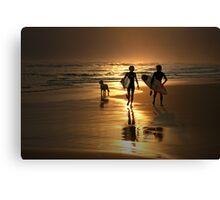Surfer Dudes Canvas Print