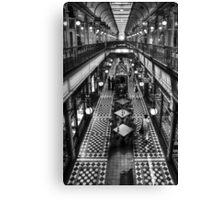 Adelaide Arcade Canvas Print