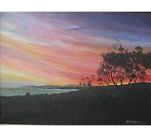 Sunset Aireys Inlet Lighthouse - Acrylic Photographic Print
