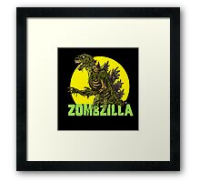 Night of the Living Kaiju Corpses! Framed Print