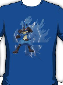 Super Smash Bros Lucario 3ds/wii u T-Shirt