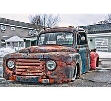 Truck & Treats Photographic Print
