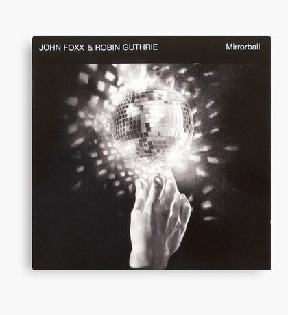 John Foxx - Mirrorball Canvas Print