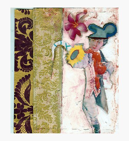 Baroque Mickey Mouse, artists books Photographic Print