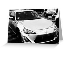 ft86 brz  Greeting Card