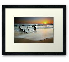 Dicky Dawn Framed Print