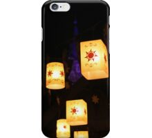 i just want to see the floating lanterns gleam iPhone Case/Skin