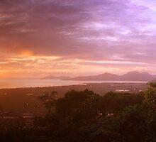 Ross Lookout in Cairns, Queensland by groophics