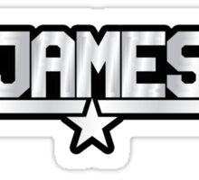 James Callsign Sticker