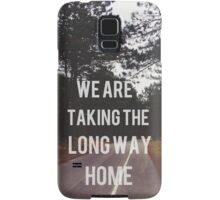 Long Way Home Lyrics 5sos Samsung Galaxy Case/Skin