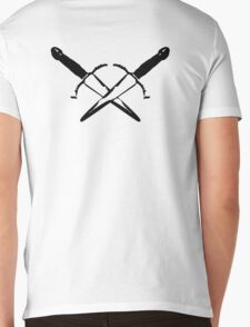 White Rogue Mens V-Neck T-Shirt