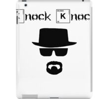 The One Who Knocks T-Shirt iPad Case/Skin