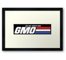 GMO, A Real American Poison Framed Print