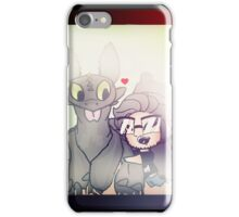Markiplier And Toothless iPhone Case/Skin