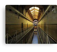 Old Melbourne Gaol - Victoria Canvas Print