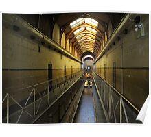 Old Melbourne Gaol - Victoria Poster