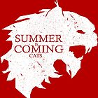 Summer Is Coming Cats by Aaron Morales