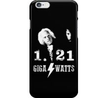 1.21 GIGAWATTS (BACK TO THE FUTURE) iPhone Case/Skin